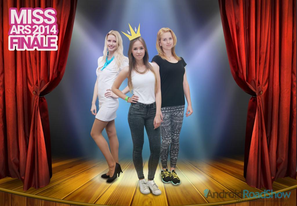 miss ars 2014 podium